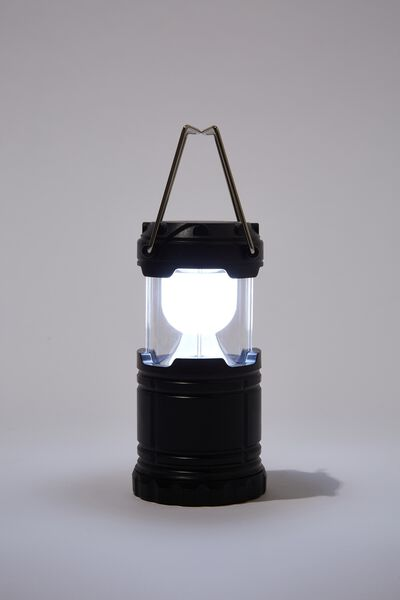 Pop Up Lantern, BLACK