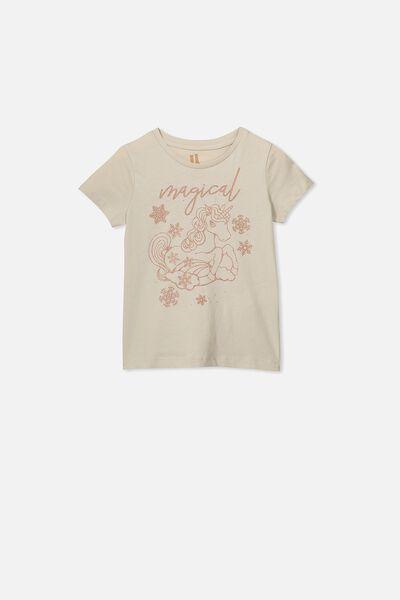 Penelope Short Sleeve Tee, RAINY DAY/MAGICAL UNICORN/MAX