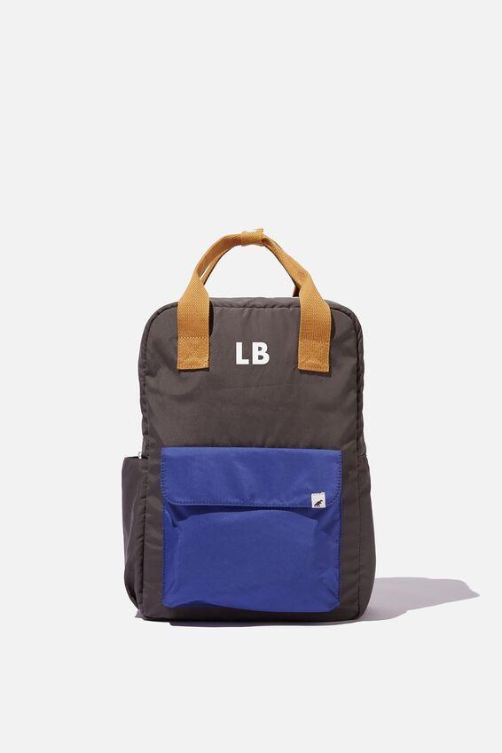 Back To School Backpack - Personalised, KHAKI BROWN