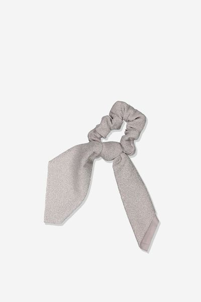 Scarf Scrunchie, PALE GOLD SHIMMER