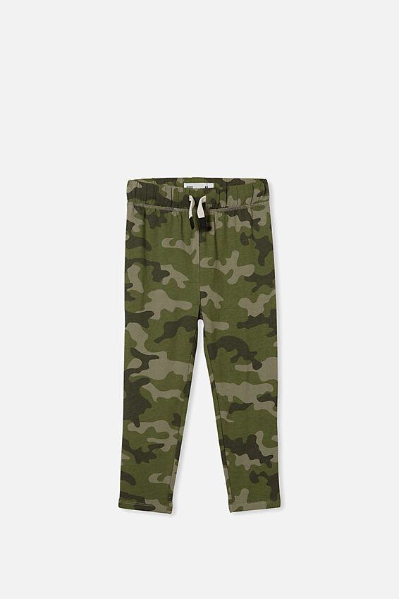 Brooklyn Slouch Pant, GREEN CAMO
