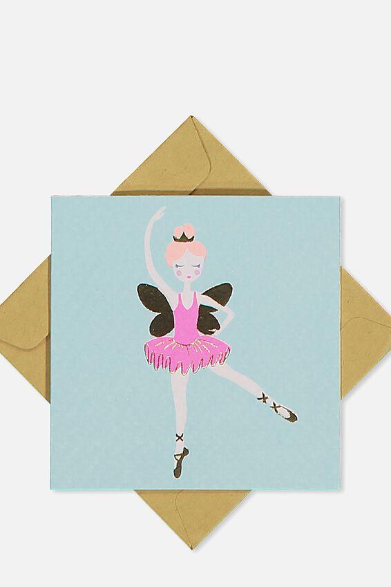 Gift Cards, FAIRY BALLERINA