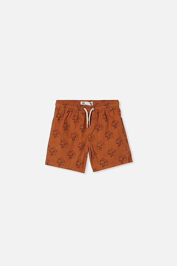 Volly Short, AMBER BROWN/TREX