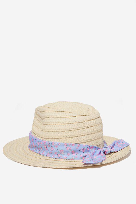 Floppy Hat, SOMERSET DITSY ROSE