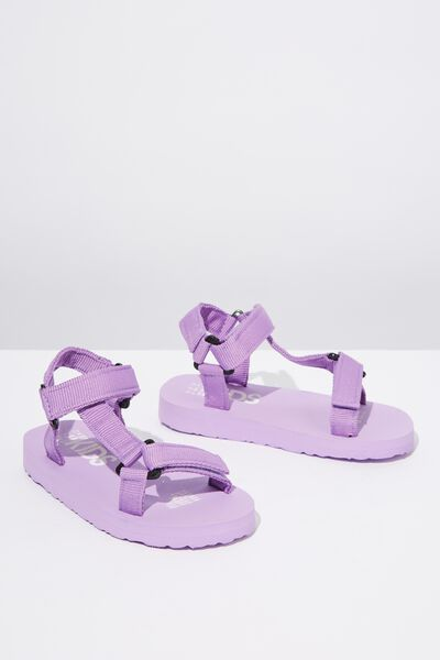 Charlie Woven Strap Sandal, UNICORN DREAM