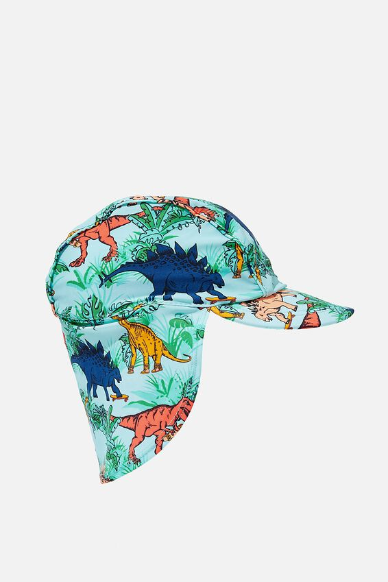 Swim Hat, DINO COLOURED