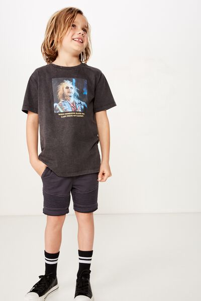 Co-Lab Short Sleeve Tee, LCN WB BEETLE JUICE BLACK SNOW WASH