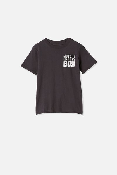 Max Skater Short Sleeve Tee, PHANTOM/STRAIGHT UP DADDYS BOY