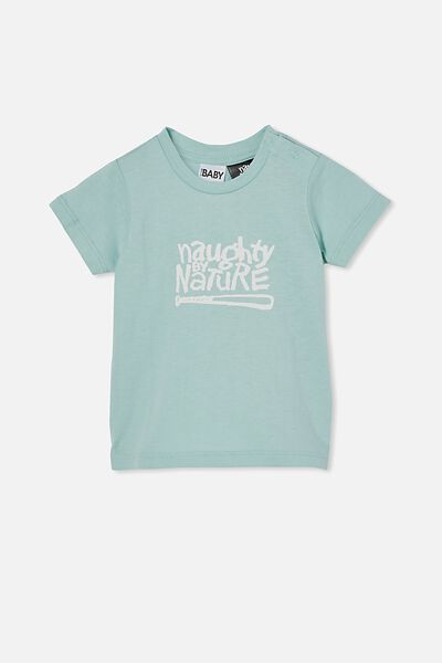Jamie Short Sleeve Tee-License, LCN MT DUCK EGG/NAUGHTY BY NATURE