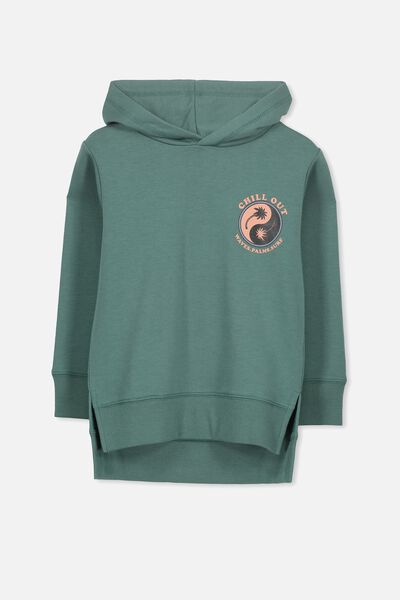 Liam Hoodie, SAGE PINE/CHILL OUT