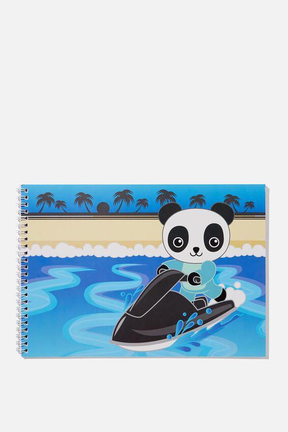 Sunny Buddy A4 Sketch Book, EXTREME OLI