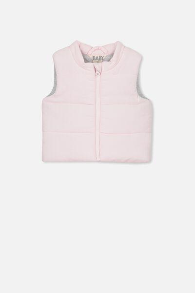 Courtney Puffer Vest, BLUSH