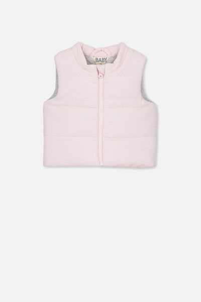 Courtney Puffer Vest, BLUSH