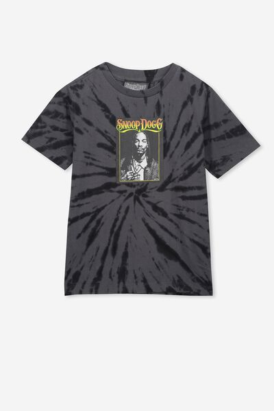 Co-Lab Short Sleeve Tee, LCN MT SNOOP/TIE DYE