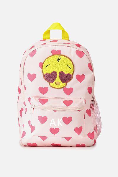 Personalised License Backpack, PERSONALISED TWEETY