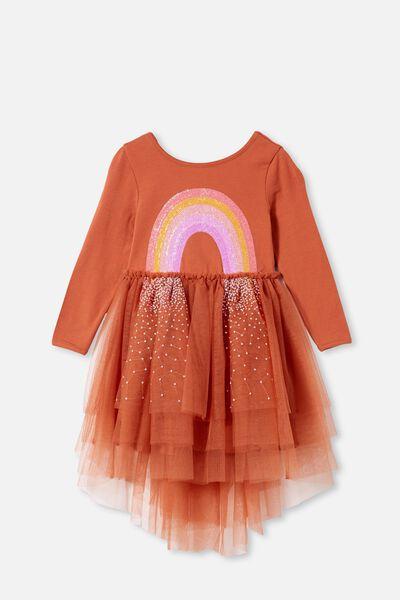 Iris Long Sleeve Dress, CHUTNEY/RAINBOW