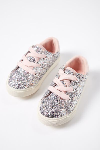 Mini Millie Glitter Trainer, GLITTER