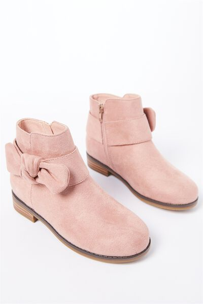 Billie Bow Boot, BLUSH