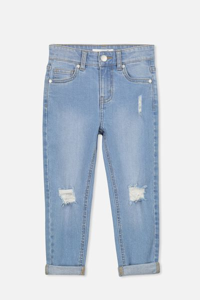Indie Slouch Jean, LIGHT WASH