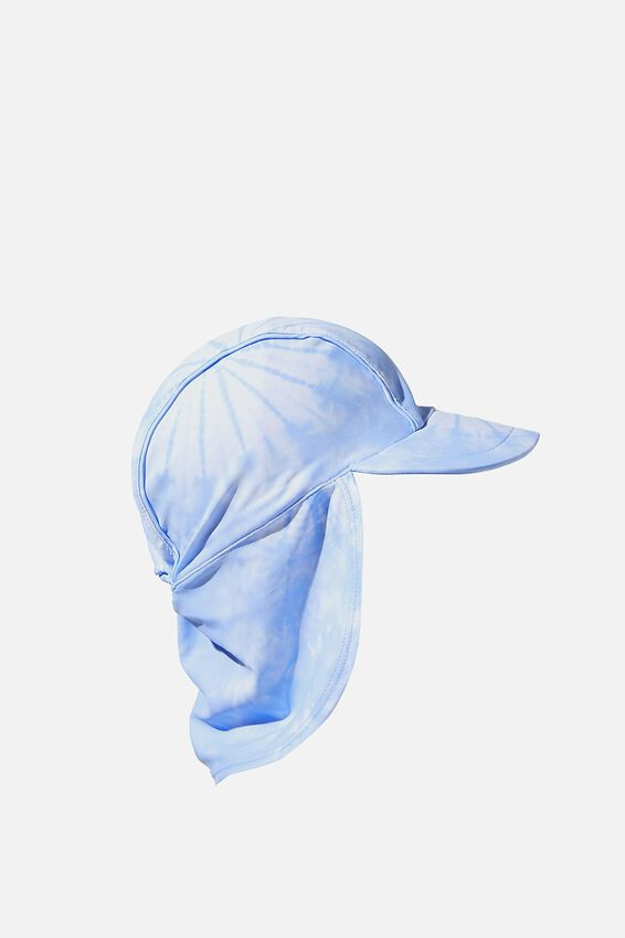 Sammy Swim Hat, DUSK BLUE/TIE DYE