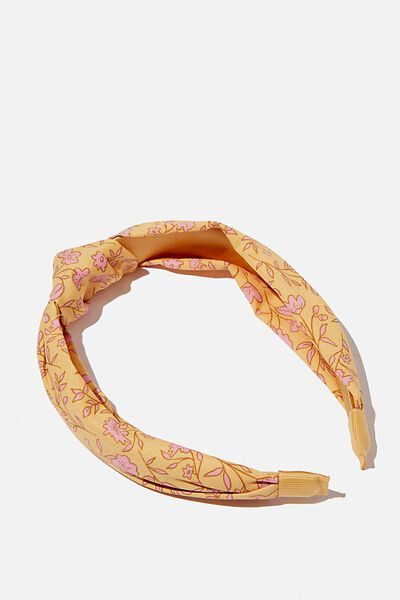 Fashion Headband, SPRIGGY FLORAL