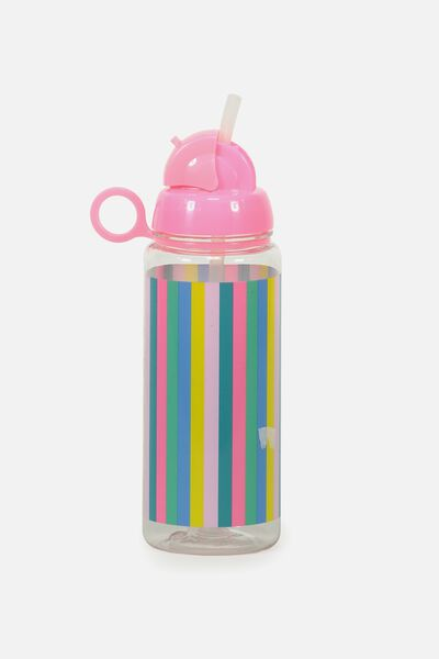 Spring Drink Bottle, VERTICAL STRIPE