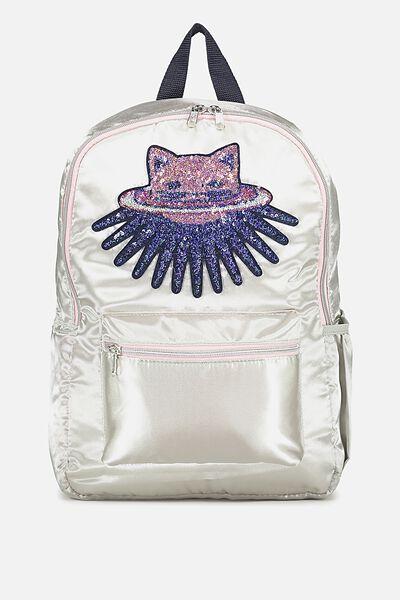 School Backpack, SPACE CAT
