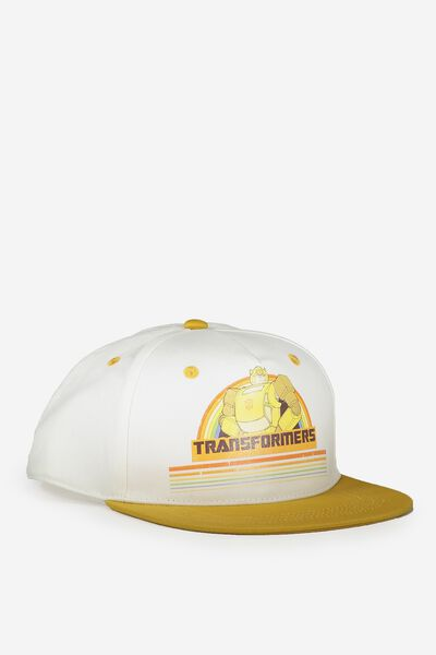 License Flat Peak Cap, TRANSFORMERS