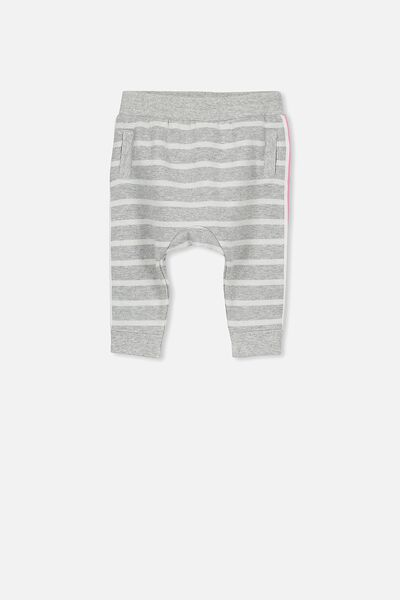 Shelby Trackpant, GREY MARLE STRIPE/SPARKLE
