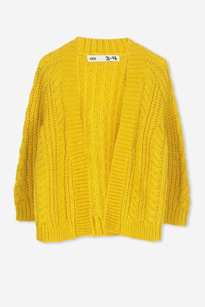 Cooper Cardigan, GOLDEN ROD