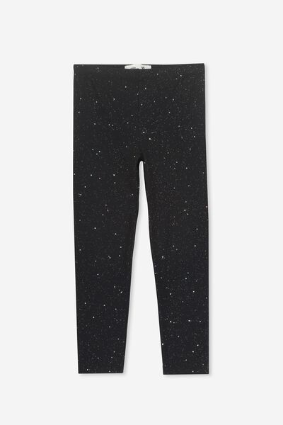 Huggie Tights, BLACK/HOLOGRAPHIC SPECKLE