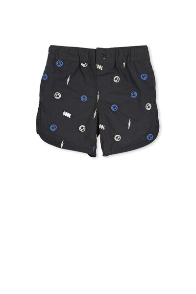 Alfie Boardshort, PHANTOM/SMILE EMB
