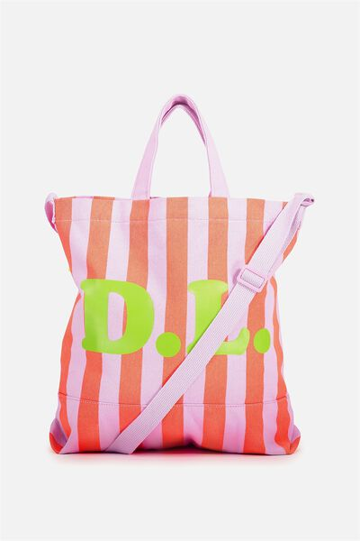 Personalised Printed Beach Tote, BEACH THIS WAY
