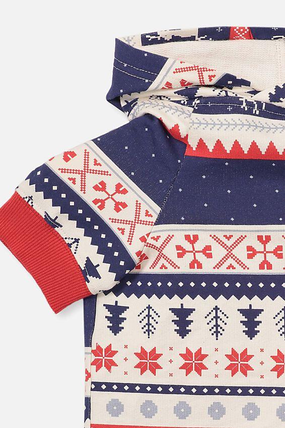 Christmas Dog Costume, FAIRISLE