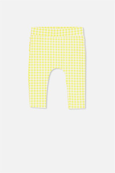 Ria Ruffle Legging, LEMON ZEST GINGHAM