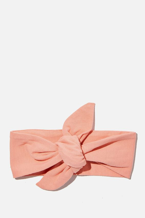 The Tie Headband, SMOKED SALMON