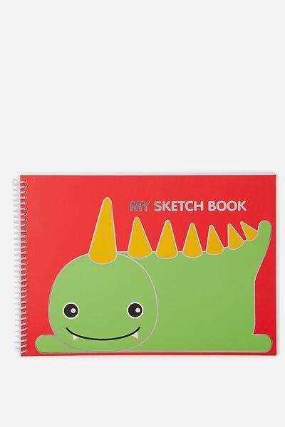 Sunny Buddy A4 Sketchbook, JACK CORE
