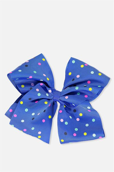 Statement Bows, PRINCESS BLUE SPOT