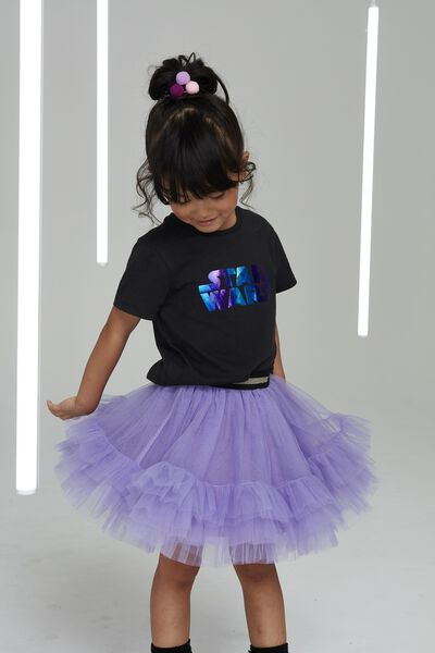 Trixiebelle Tulle Skirt, LILAC/RUFFLES