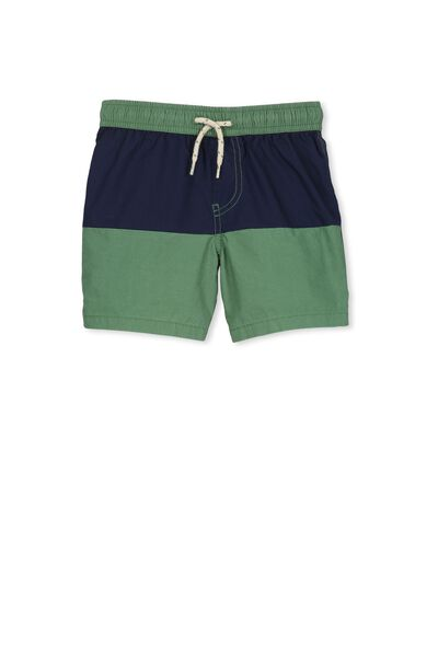 Murphy Swim Short, GABBY GREEN PANEL