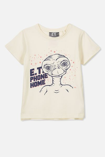 Short Sleeve License Tee, DARK VANILLA/ET
