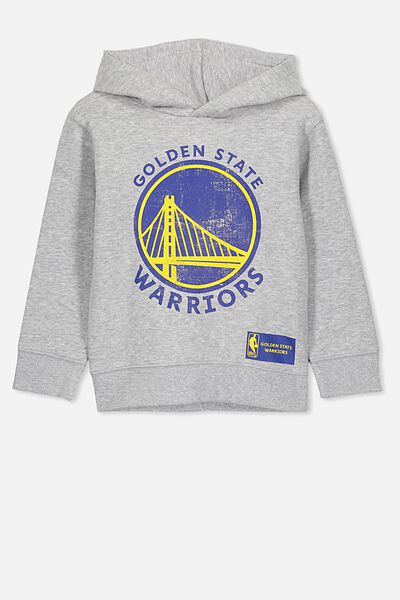 Co-Lab Fleece, GREY MARLE/GOLDEN STATE WARRIORS