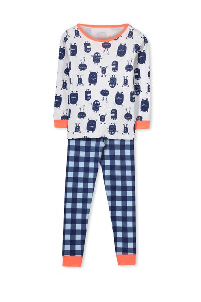 Dan Long Sleeve Boys PJs, MONSTER MASH