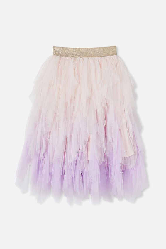 Tori Long Dress Up Skirt, LILAC GRADIENT