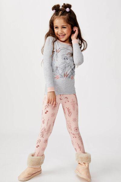 Ruby Long Sleeve Girls Pyjamas, LCN DIS FROZEN BORN LEADER