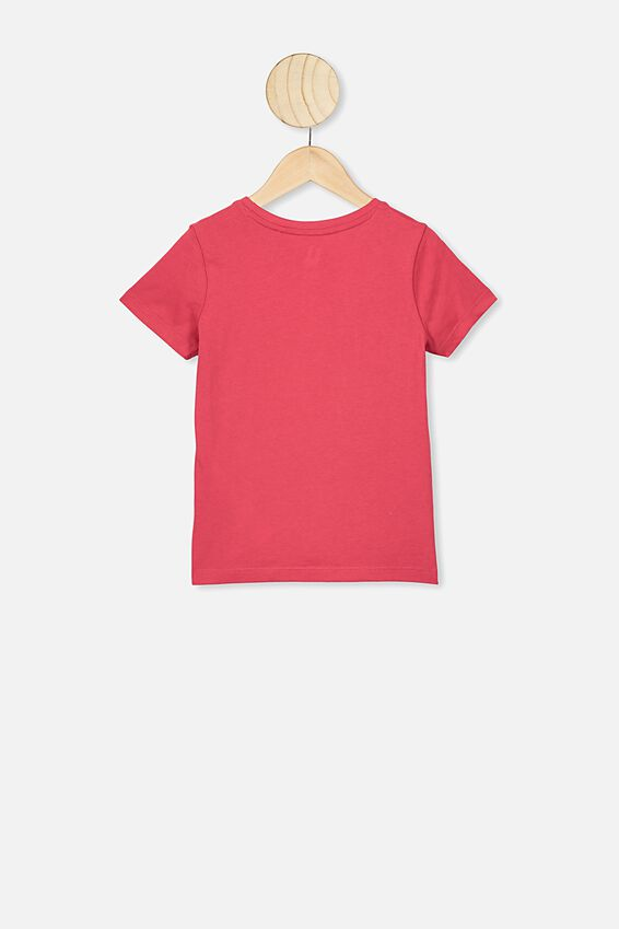 Penelope Short Sleeve Tee, LUCKY RED/KOI FISH/MAX