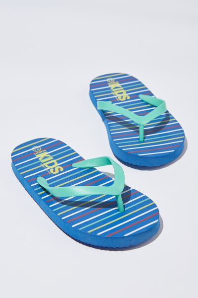 Printed Flip Flop, B SUMMER STRIPE