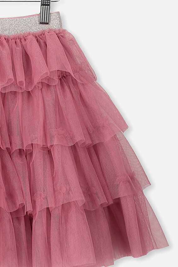 Trixiebelle Tulle Skirt, VERY BERRY/TIERED MIDI