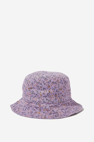 Kids Bucket Hat, SWEET LILAC/DITSY FLORAL