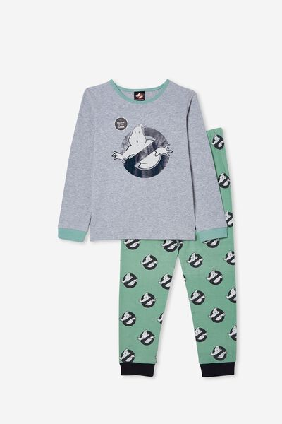 Orlando Long Sleeve Pyjama Set Licensed, LCN SON GHOSTBUSTERS/SMASHED AVO